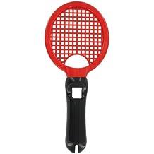 eForBuddy PlayStation 3 PS3 Move用アタッチメント スポーツチャンピオン テニスラケット 黒&レッド