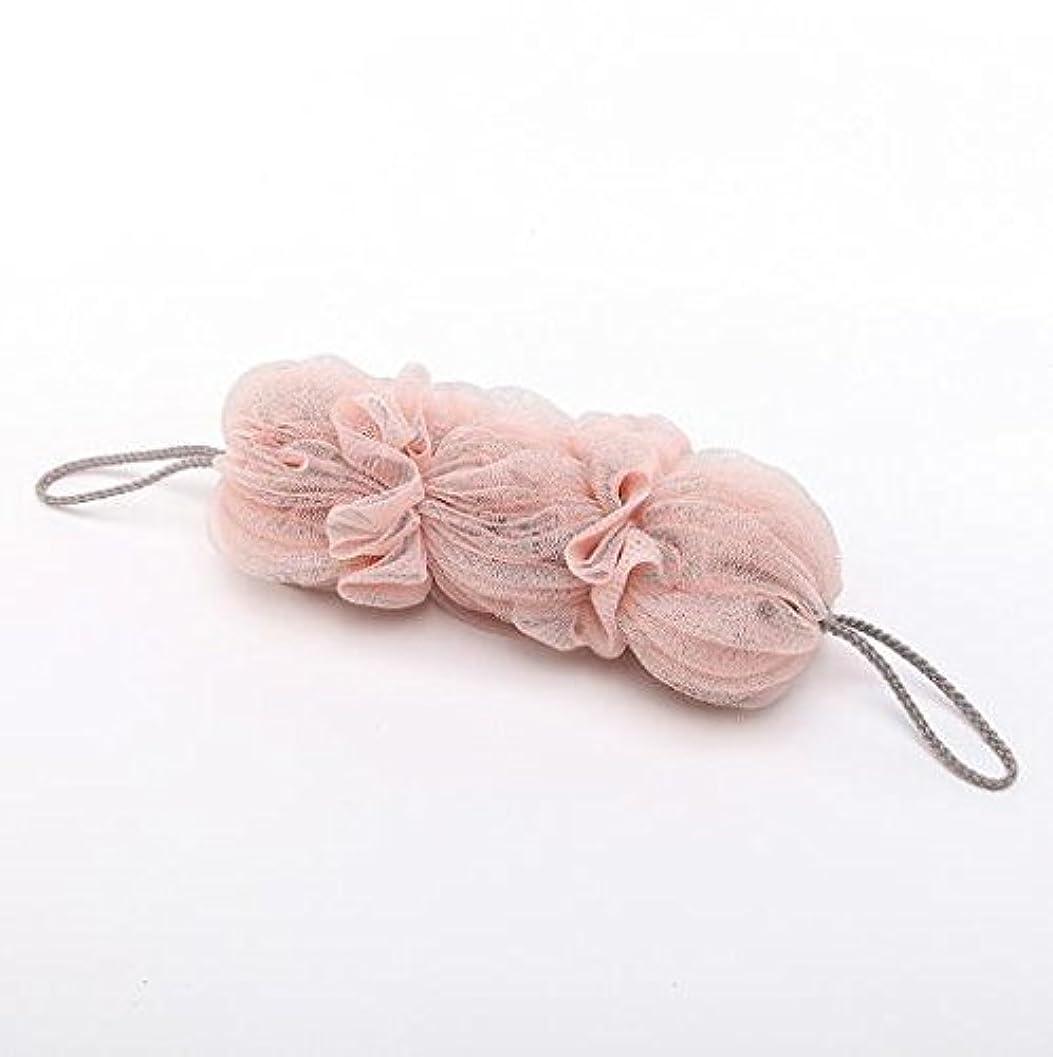 虫粘土王女ICOUCHI 紐付きボディタオル 背中も洗えるシャボン 泡立てネット 超柔軟 シャワー用 細かいネット 柔らかい泡立てネット