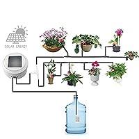 自動散水システム デジタルタイマー、庭の花植物のために水をまくDIYの自動潅漑のコントローラーと