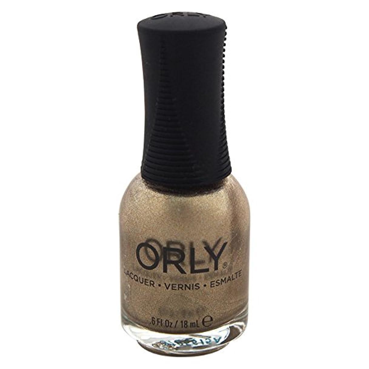 開示する飾り羽爪Orly Nail Lacquer - Luxe - 0.6oz / 18ml