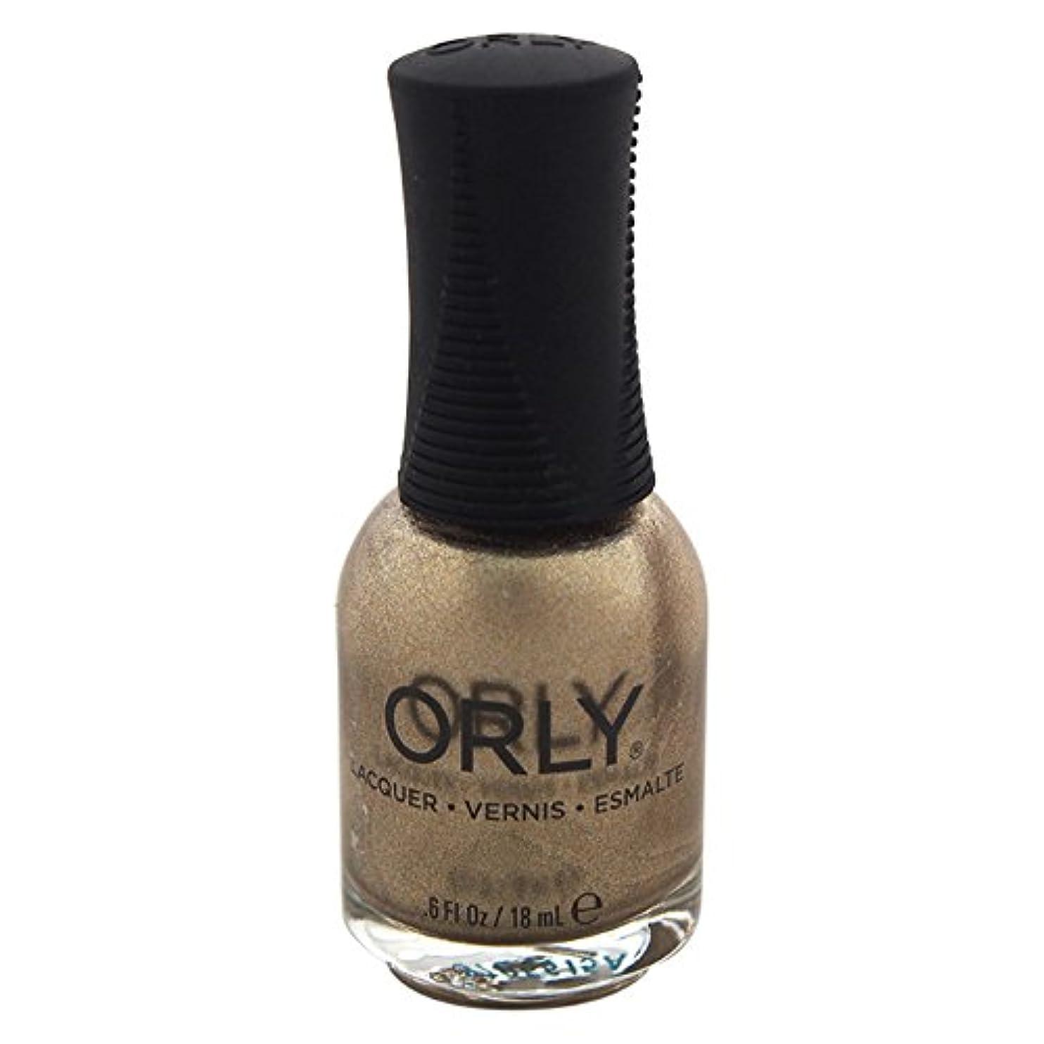 サービスメッセンジャー電圧Orly Nail Lacquer - Luxe - 0.6oz / 18ml