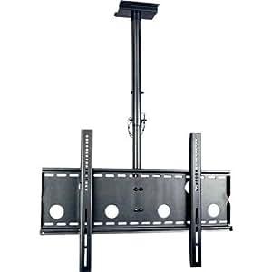 液晶テレビ天吊金具M(37-65型) ブラック