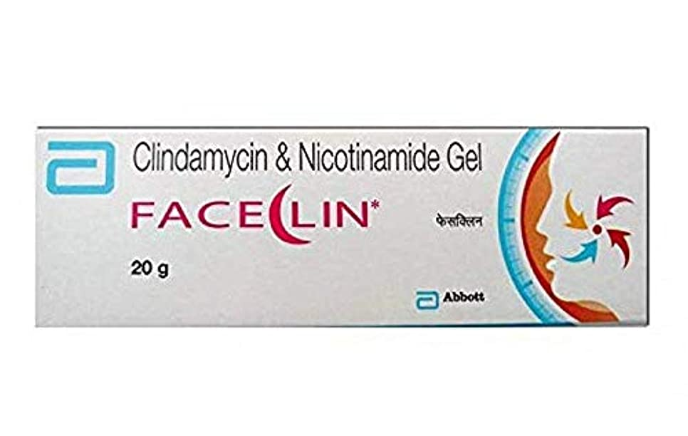 コンテンツソーシャルハンサムFaceclin Gel - 20gm