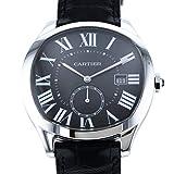 [カルティエ] CARTIER 腕時計 WSNM0009 ドライブ ドゥ カルティエ ウォッチ SS/ブラックレザー 自動巻き [中古品] [並行輸入品]