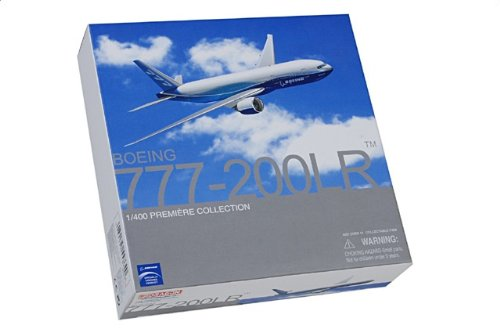 """1:400 ドラゴンモデルズ 55864 ボーイング 777-200LR ダイキャスト モデル ボーイング N6066Z """"Worldliner"""" 2004 Livery【並行輸入品】"""