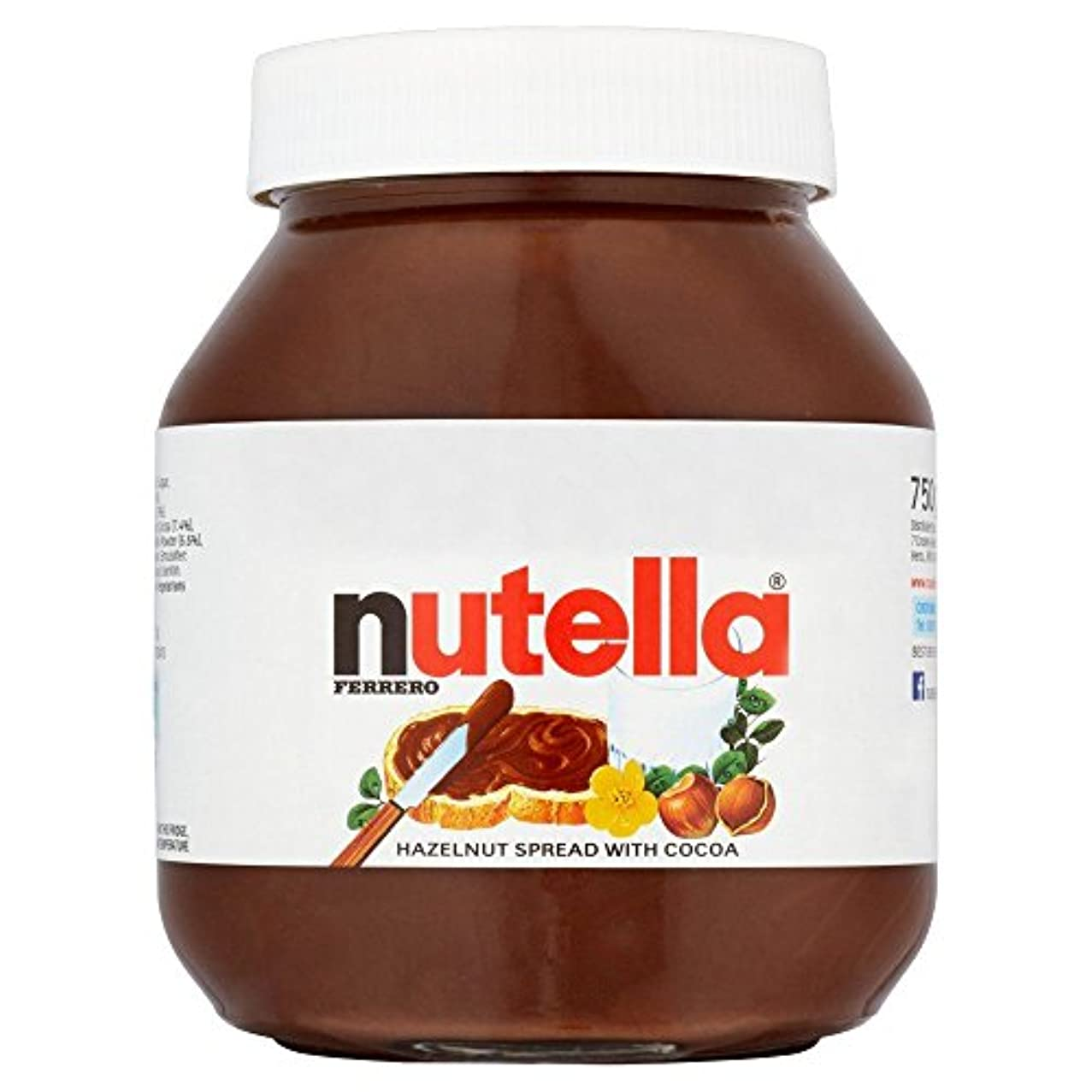 人建築家リンクNutella Hazelnut Spread 750g