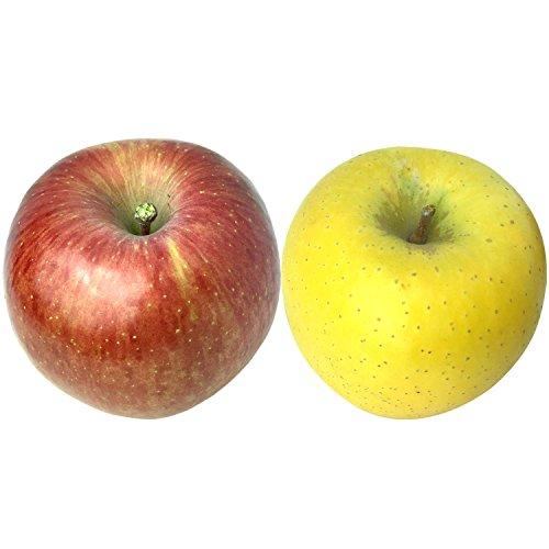 Su-eat 葉とらず 味極み りんご 減農薬 長野県産 (サンふじ&シナノゴールドセット 5キロ)