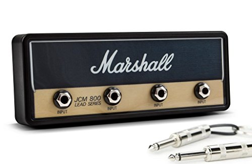 [해외]PLUGINZ (뿌라구인쯔) Marshall Official JCM800 STANDARD Jack Rack | 마샬 벽걸이 앰프 형 키 걸이 (키 박스)/PLUGINZ (Plug-in) Marshall Official JCM 800 STANDARD Jack Rack | Marshall wall hanging amp type key hanger (key box)