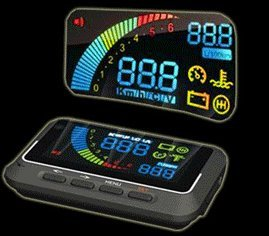 OBD2 連動 クルマの異常をお知らせ ヘッドアップディスプレイ 簡単取付 ドライブドクター