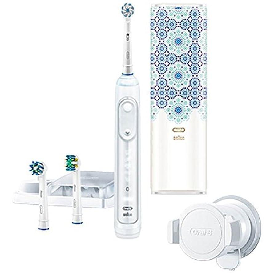 バング慣れているフラスコブラウン 電動歯ブラシ 「ジーニアス9000」 D7015356XCTMC モロッコデザインパッケージ