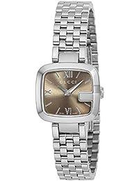 [グッチ]GUCCI 腕時計 Gグッチ ブラウン文字盤 YA125516-N レディース 【並行輸入品】