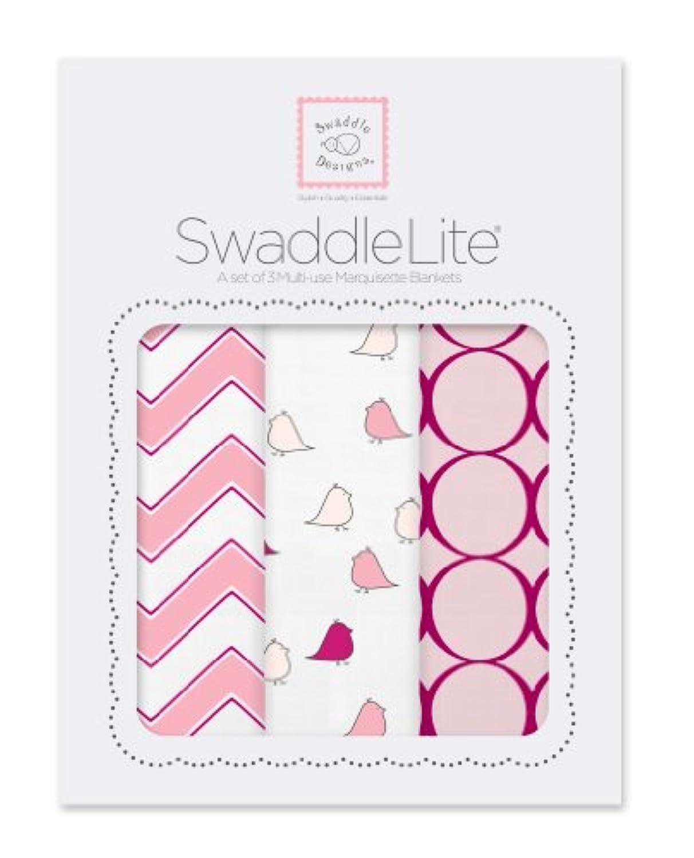 スワドルデザインズ SwaddleDesigns スワドルライト マーキゼットおくるみ3点セット ピンク SD-360P