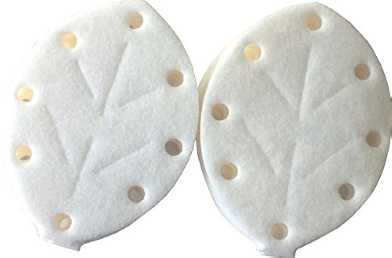 普遍的なジョージハンブリーくぼみアロマブリーズ NEWリーフ型 詰替えマット (10枚入り)