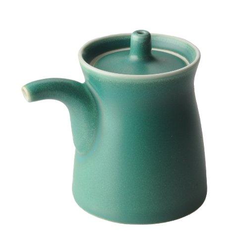 白山陶器 G型しょうゆさし 大 グリーン