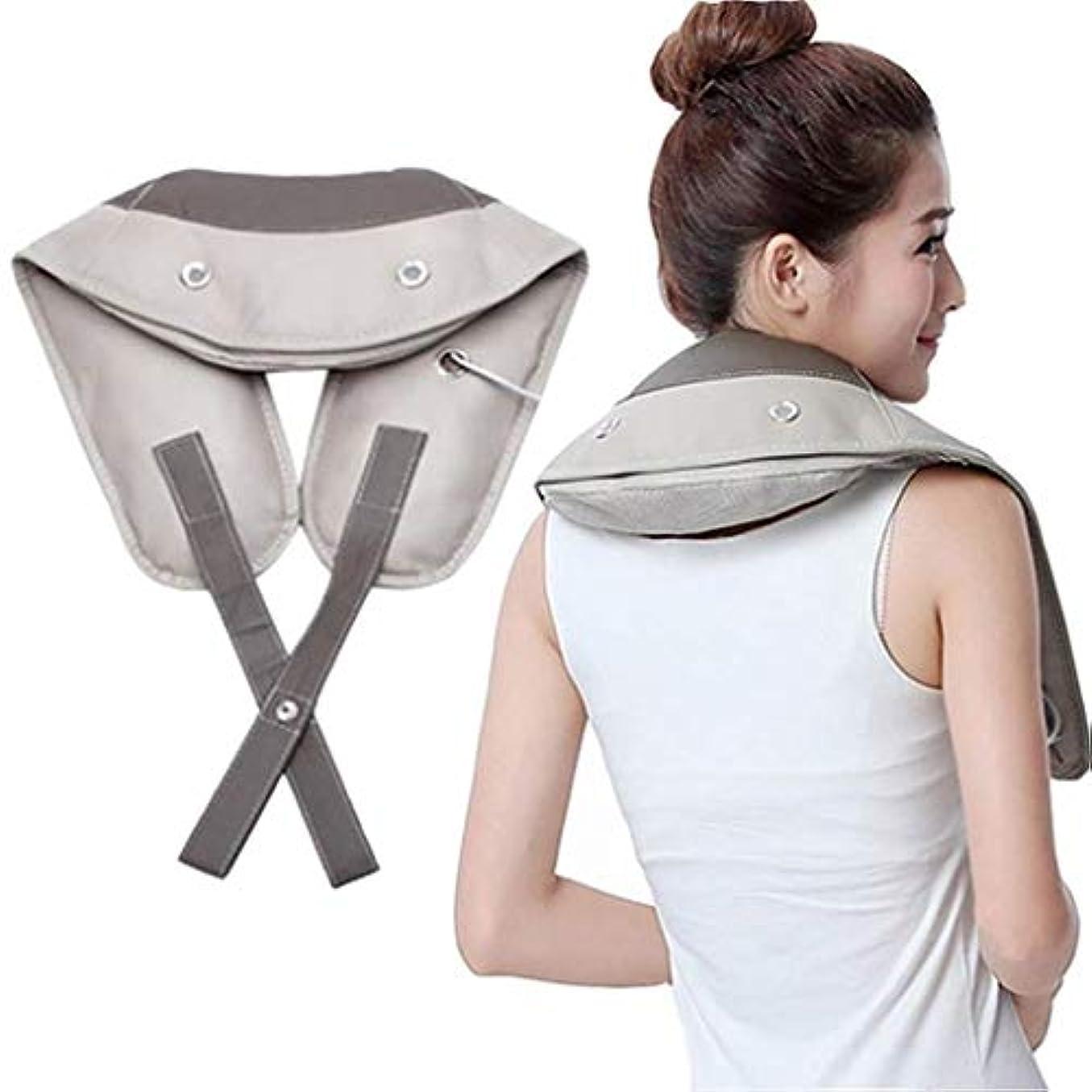 メタン呼吸接続ネックマッサージャー、ショルダー&レッグマッサージャー、ディープティシューマッサージャー、8つの強み、32のユニークなリズムマッサージ
