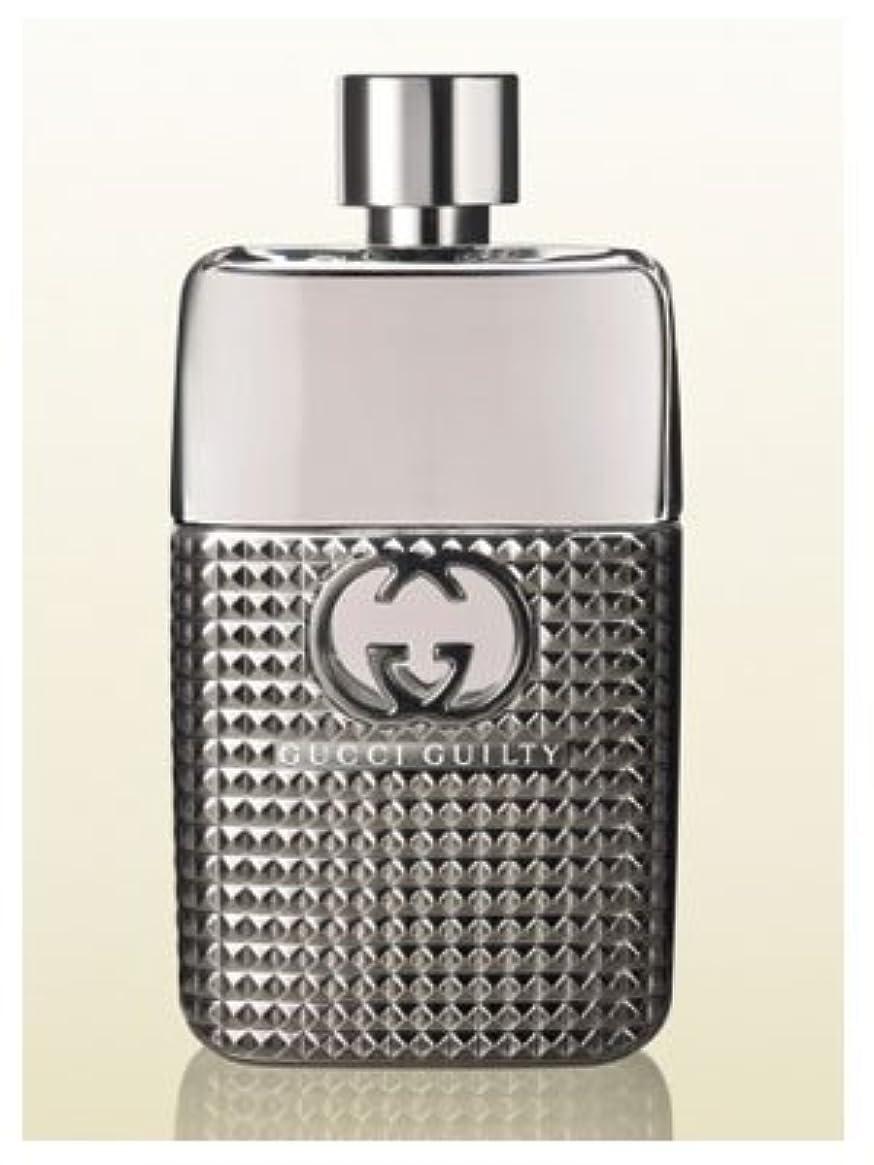 荒野雷雨マスタードGucci Guilty Studs Pour Homme (グッチ ギルティー スタッド プール オム) 3.0 oz (90ml) EDT Spray for Men