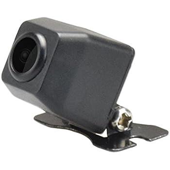 LOSKA バックカメラ 高画質リアカメラ 業界最小型カメラ直径約13mmだけ 正像・鏡像切替/ガイドライン有・無切替 暗視 夜でも見える 広角レンズ 角度調整可能 防塵防水IP67 日本語マニュアル