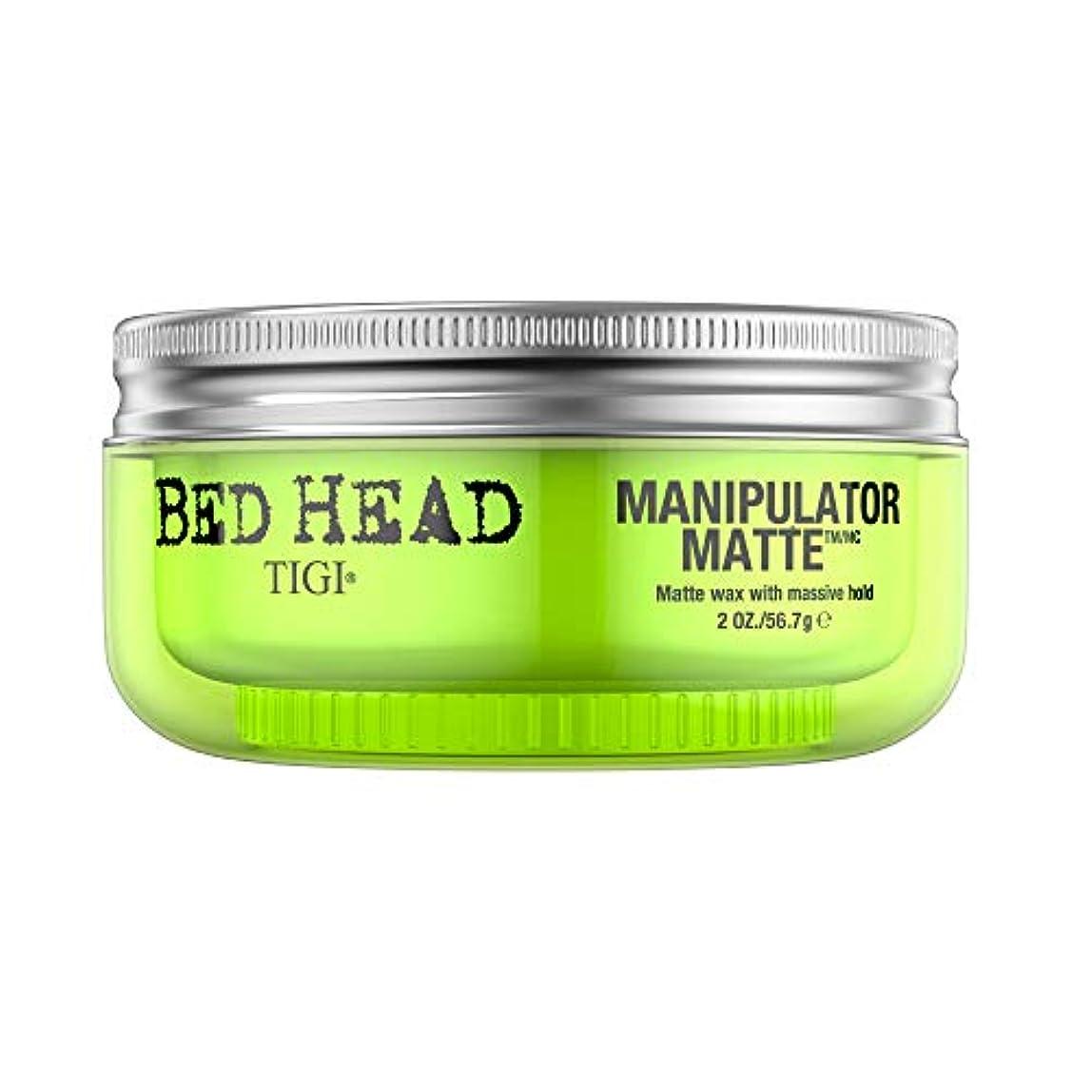 悪化する時計回りティジー Bed Head Manipulator Matte - Matte Wax with Massive Hold 57.2g/2oz [海外直送品]