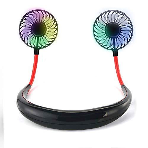 扇風機 USB 首かけ 携帯扇風機 TOYOKI ハンズフリー ポータブル扇風機 ブラシレスモーター 超大容量2000Mah 持ち運び便利 小型扇風機 LED付き 3段階風量調節 卓上扇風機 360°角度調整可能 ハンディファン 7枚羽根 静音 省エネ usb充電式 ミニ扇風機 熱中症対策