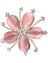 Perfk ブローチ 桜の花 フラワー ブローチピン ジュエリー ピンク かわいい 衣装 デコレーション 飾り