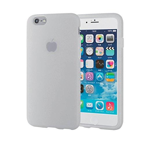 ELECOM iPhone 6s/6 対応 シリコンケース ぴ...