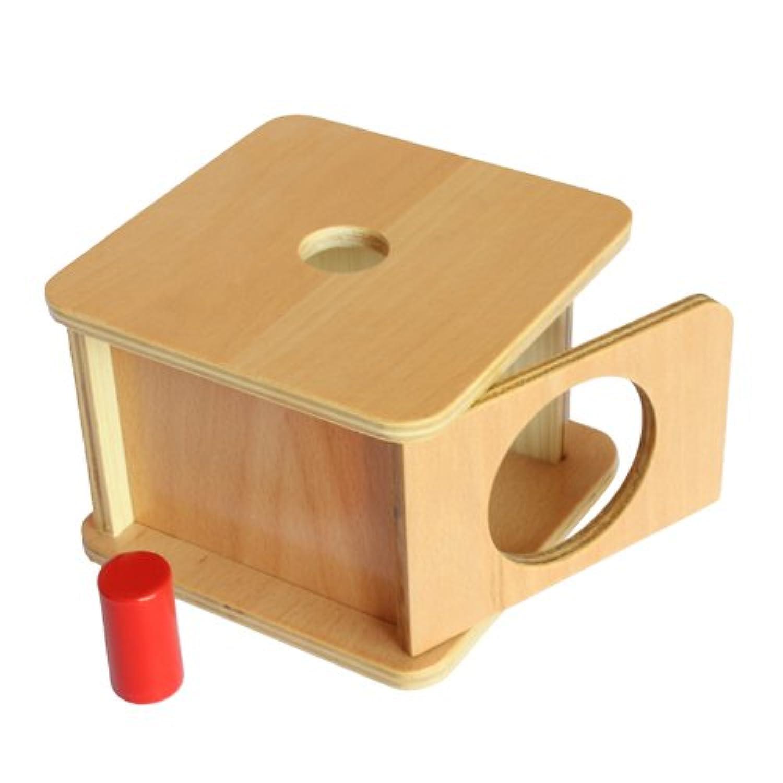 Montessori Imbucare Box w/ Small Cylinder