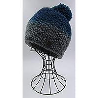 ドイツ発(MOSHIKI BRAND):メンズ、レディース POMPOM付きビーニー型ニット帽子:LUNAG
