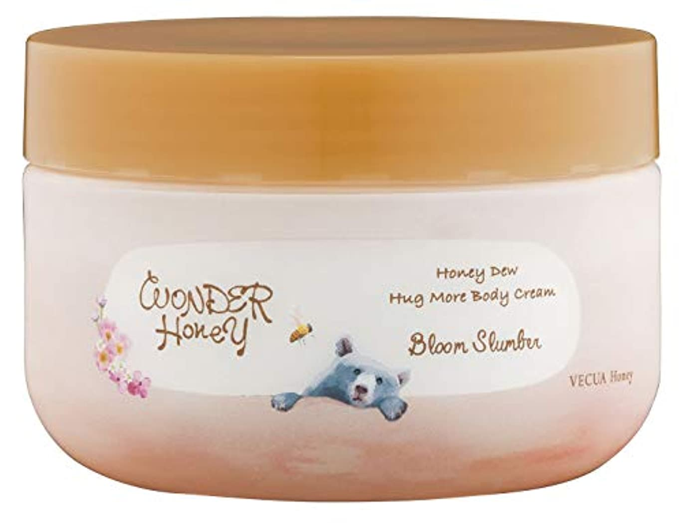 緩やかな蜂利用可能ワンダーハニー ハグモアボディクリーム お花のまどろみ