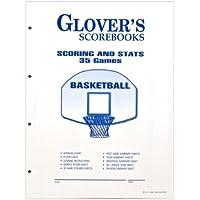 Glovers Scorebooks Basketball Scoring and Stats Sheets (35 Games)