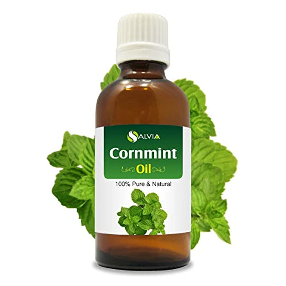 マラソン法令芝生Cornmint Oil (Mentha arvensis) 100% Natural Pure Undiluted Uncut Essential Oil 50ml