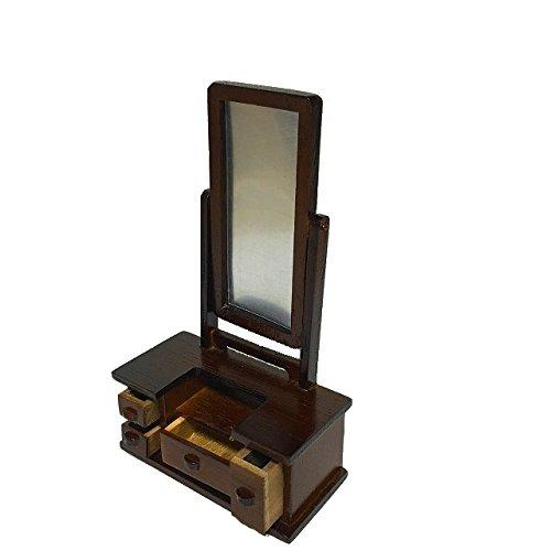 ドールハウス 和のミニチュア 単品 鏡台 1584T...