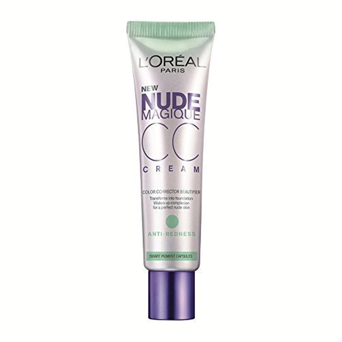 崖結婚昨日L'Or?al Paris Nude Magique CC Cream, Anti-Redness 30 ml by L'Or?al Paris (English Manual)