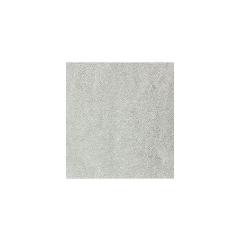 トランペット弁護士迷路ピカエース ネイル用パウダー パステル銀箔 #640 パステルホワイト 3.5㎜角×5枚