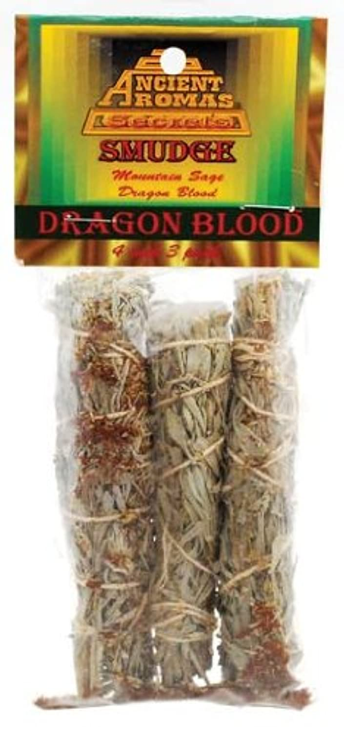 Dragon 's Blood Smudge Stick 3 - Pack