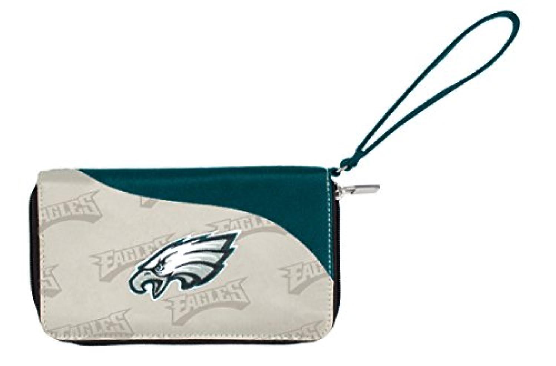 Philadelphia EaglesカーブZip IDウォレットリストレット