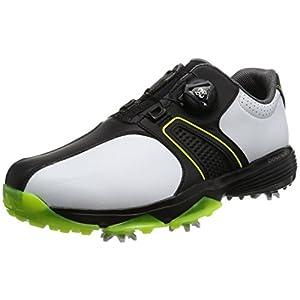 [アディダスゴルフ] ゴルフシューズ スパイク 360 traxion Boa WD 360 traxion Boa WD Q44730 ホワイト/コアブラック/ソーラーイエロー 25 3E