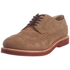 Walk-Over Cambridge Wingtip Classic Oxford: Dirty Buck Suede 71546