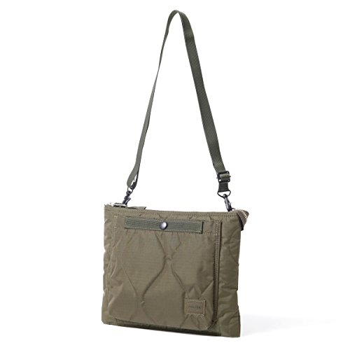 (ヘッド・ポーター) HEAD PORTER | CLAYTON | SHOULDER BAG (OLIVE)