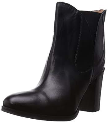 [コルソローマノーヴェ] CORSO ROMA9 ブーツ サイドゴアショートブーツ 1810911 BK (ブラック/37)