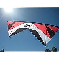Revolution 1.5 SLE Standard Red White Black Quad Line Stunt Kite Made in the USA by Revolution [並行輸入品]
