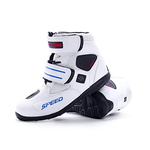 バイク用靴 プロテクション有り 強化防衛性 高い防水機能 高速換気 耐衝撃性 透湿性透湿性 抗菌防臭...