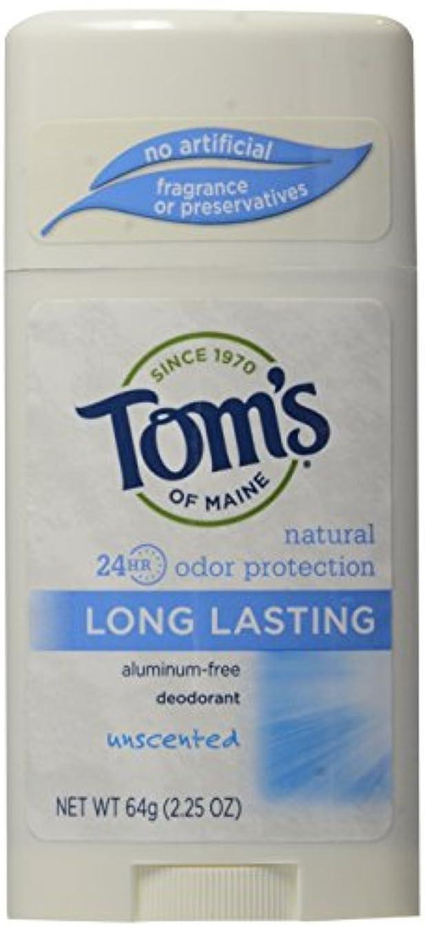 コスト正規化コアTom's of Maine Long Lasting Deodorant Stick Unscented - USA (並行輸入品)