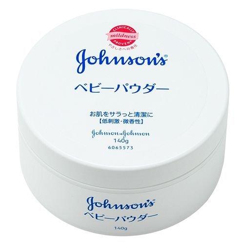 ジョンソン&ジョンソン ベビーパウダー プラスチック容器 140g -