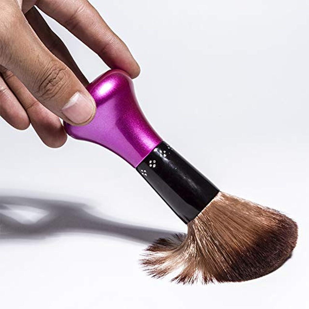 気難しいユーモラス変動するACHICOO アナグマ髪剃毛ブラシサロン男性ひげクリーニング器具シェービングツール