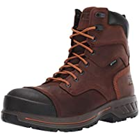"""Timberland PRO Mens TB0A1W36214 Helix Hd 8"""" Composite Toe Wateproof Insulated Brown Size: 14 Wide"""