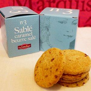 ラ・サブレジエンヌ キューブボックスNo.3塩バターキャラメル