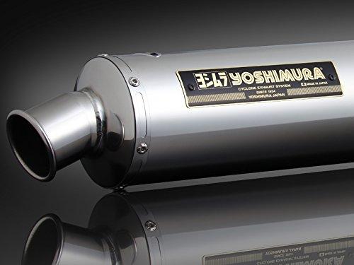 ヨシムラ(YOSHIMURA) マフラー 機械曲げサイクロン SS エキゾーストパイプ ステンレス / サイレンサー ステンレス GSX-R1100(G~J)/GSX-R750(F~H) 110-511-5250
