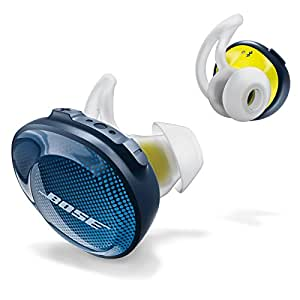 Bose SoundSport Free wireless headphones, Midnight Blue / Citron [並行輸入品]