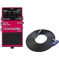 BOSS コンパクトエフェクター Vocoder VO-1 + 3m ギターケーブル VOX VGS-30 セット