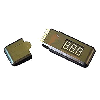 2-6S Lipoバッテリー電圧チェッカー